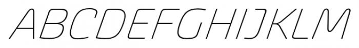 Akceler alt C Light Font UPPERCASE
