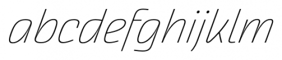 Akceler alt C Light Font LOWERCASE