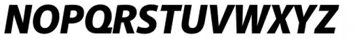 Akagi Black Italic Font UPPERCASE