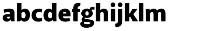 Akagi Black Font LOWERCASE