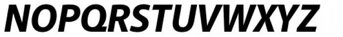 Akagi ExtraBold Italic Font UPPERCASE