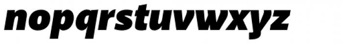 Akagi Fat Italic Font LOWERCASE