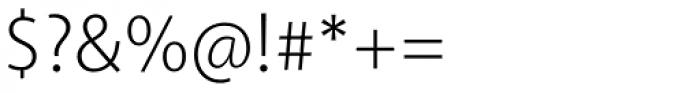 Akagi Light Font OTHER CHARS