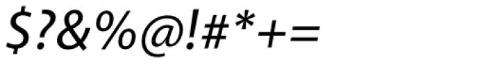 Akagi Medium Italic Font OTHER CHARS
