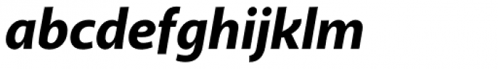 Akagi Pro ExtraBold Italic Font LOWERCASE