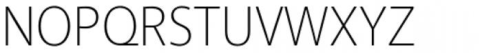 Akagi Pro ExtraLight Font UPPERCASE
