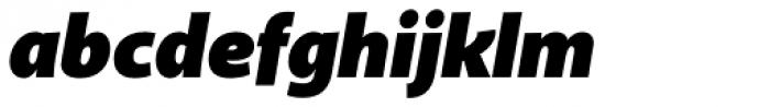 Akagi Pro Fat Italic Font LOWERCASE
