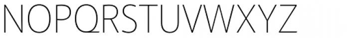Akagi Pro Thin Font UPPERCASE