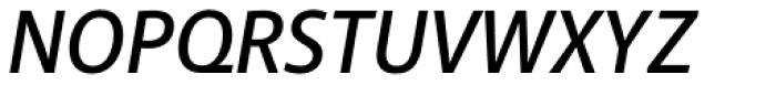Akagi SemiBold Italic Font UPPERCASE