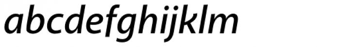 Akagi SemiBold Italic Font LOWERCASE