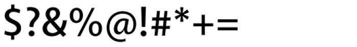 Akagi SemiBold Font OTHER CHARS