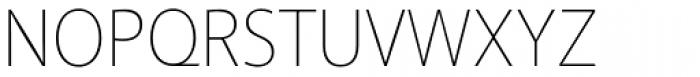 Akagi Thin Font UPPERCASE