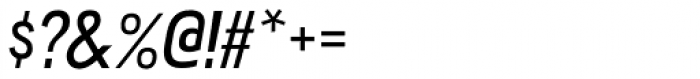 Akazan Italic Font OTHER CHARS