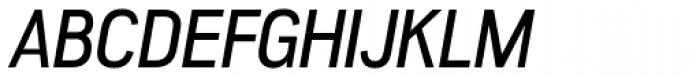 Akazan Italic Font UPPERCASE