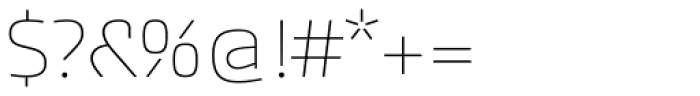 Akceler A Alt Light Font OTHER CHARS