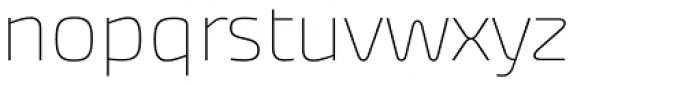 Akceler A Alt Light Font LOWERCASE