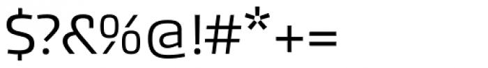 Akceler A Alt Font OTHER CHARS