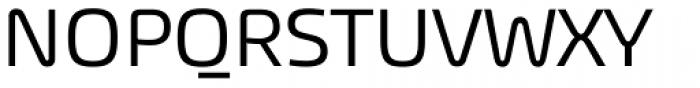 Akceler A Alt Font UPPERCASE