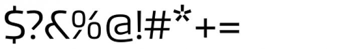 Akceler A Font OTHER CHARS