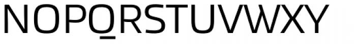 Akceler A Font UPPERCASE