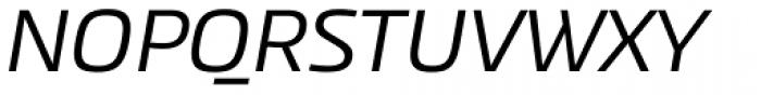 Akceler B Font UPPERCASE