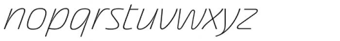 Akceler C Alt Light Font LOWERCASE