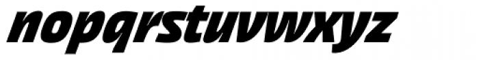 Akceler C Bold Font LOWERCASE