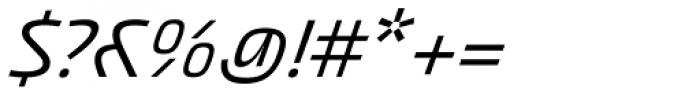 Akceler C Font OTHER CHARS