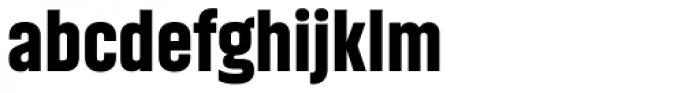 Akhand Black Font LOWERCASE