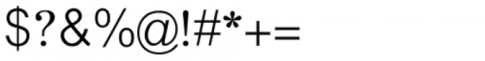 Akhbar Light Font OTHER CHARS