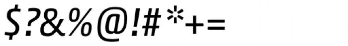 Akko Paneuropean Italic Font OTHER CHARS