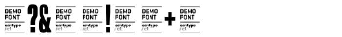 Akkordeon DEMO Font OTHER CHARS