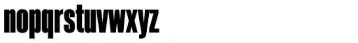 Akkordeon Eight Font LOWERCASE