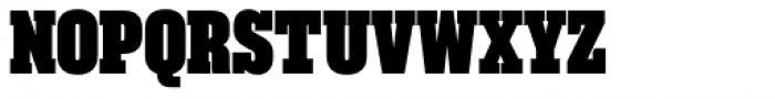 Akkordeon Slab Eleven Font UPPERCASE