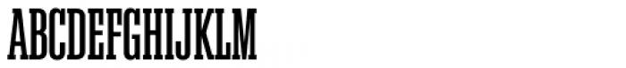 Akkordeon Slab Five Font UPPERCASE