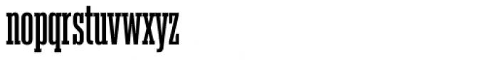 Akkordeon Slab Five Font LOWERCASE