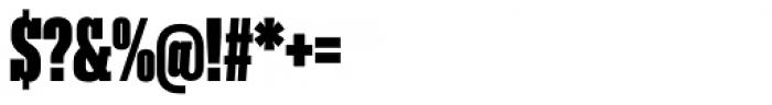 Akkordeon Slab Nine Font OTHER CHARS