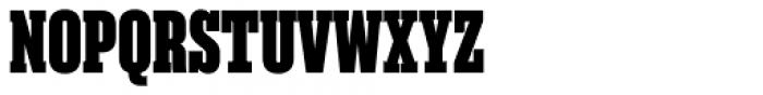 Akkordeon Slab Nine Font UPPERCASE