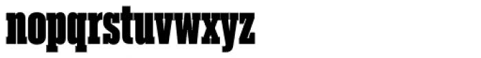Akkordeon Slab Nine Font LOWERCASE