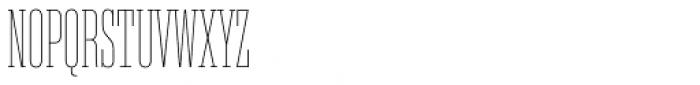 Akkordeon Slab One Font UPPERCASE