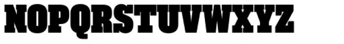 Akkordeon Slab Twelve Font UPPERCASE