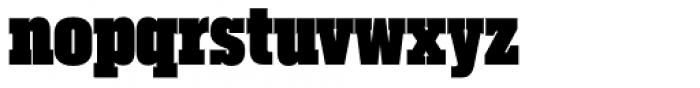 Akkordeon Slab Twelve Font LOWERCASE