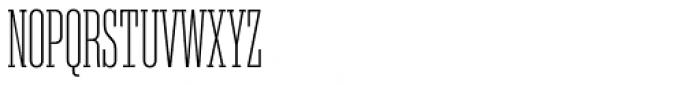 Akkordeon Slab Two Font UPPERCASE