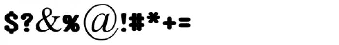 Aklimat MF Black Font OTHER CHARS