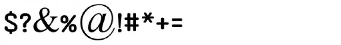 Aklimat MF Regular Font OTHER CHARS