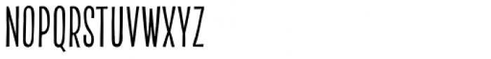 Akon Regular Font UPPERCASE