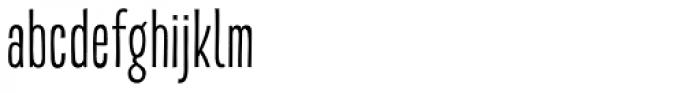 Akon Regular Font LOWERCASE