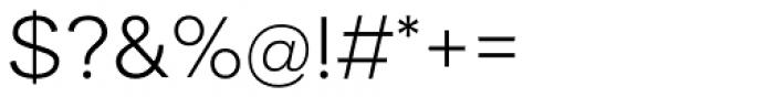 Aksara Light Font OTHER CHARS