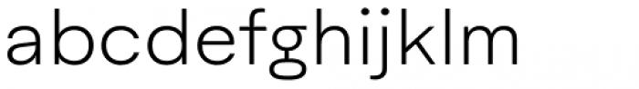 Aktifo A Light Font LOWERCASE
