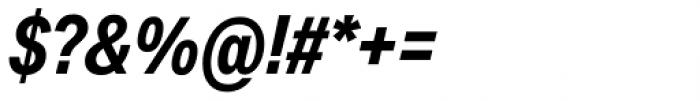 Aktiv Grotesk Cd Bold Italic Font OTHER CHARS